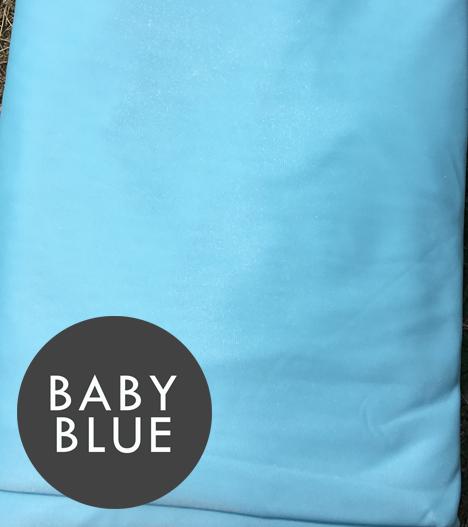 baby blue aerial silks