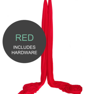 Red Aerial Silks For Sale