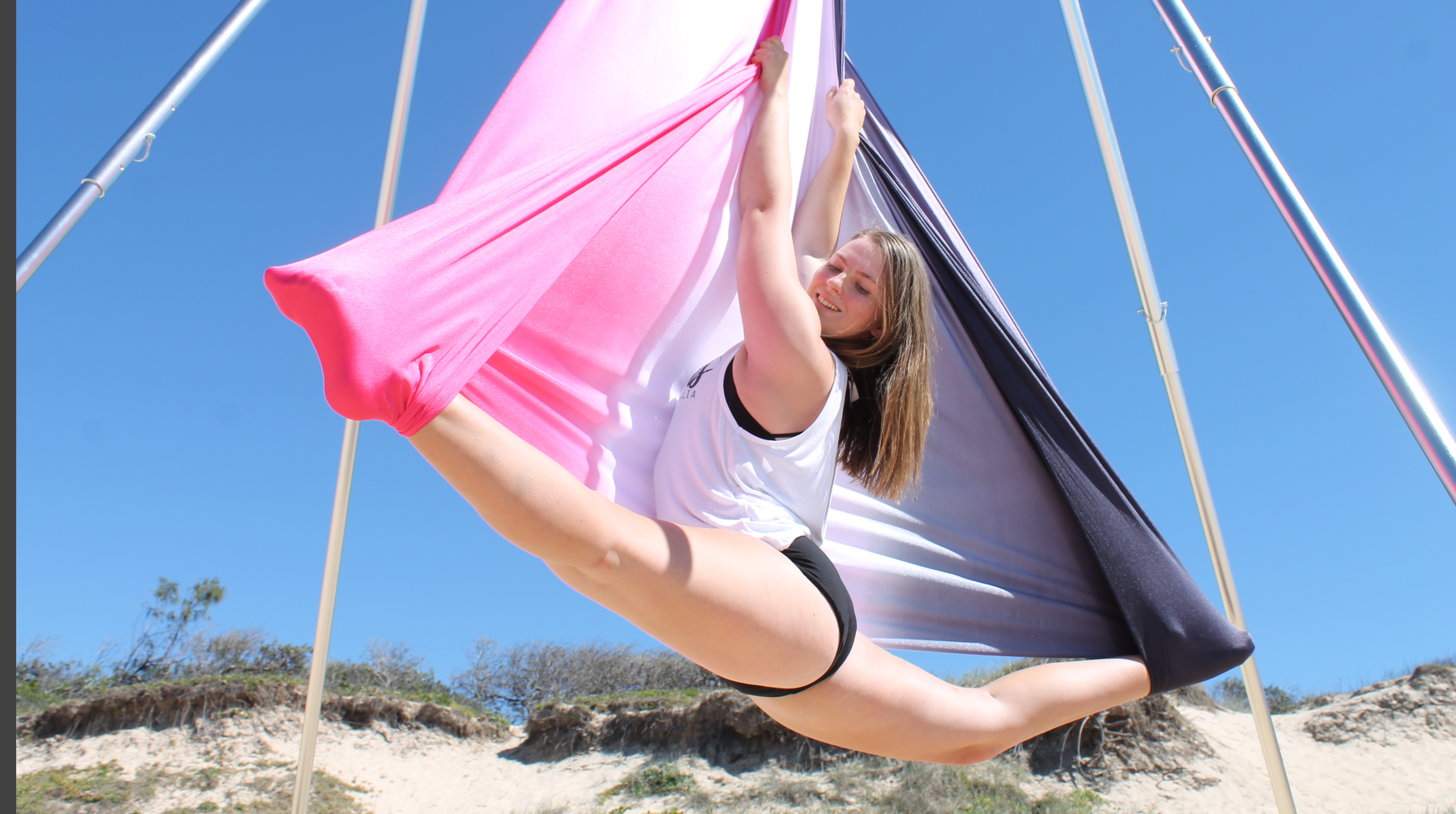 ombre AERIAL SILKS for sale