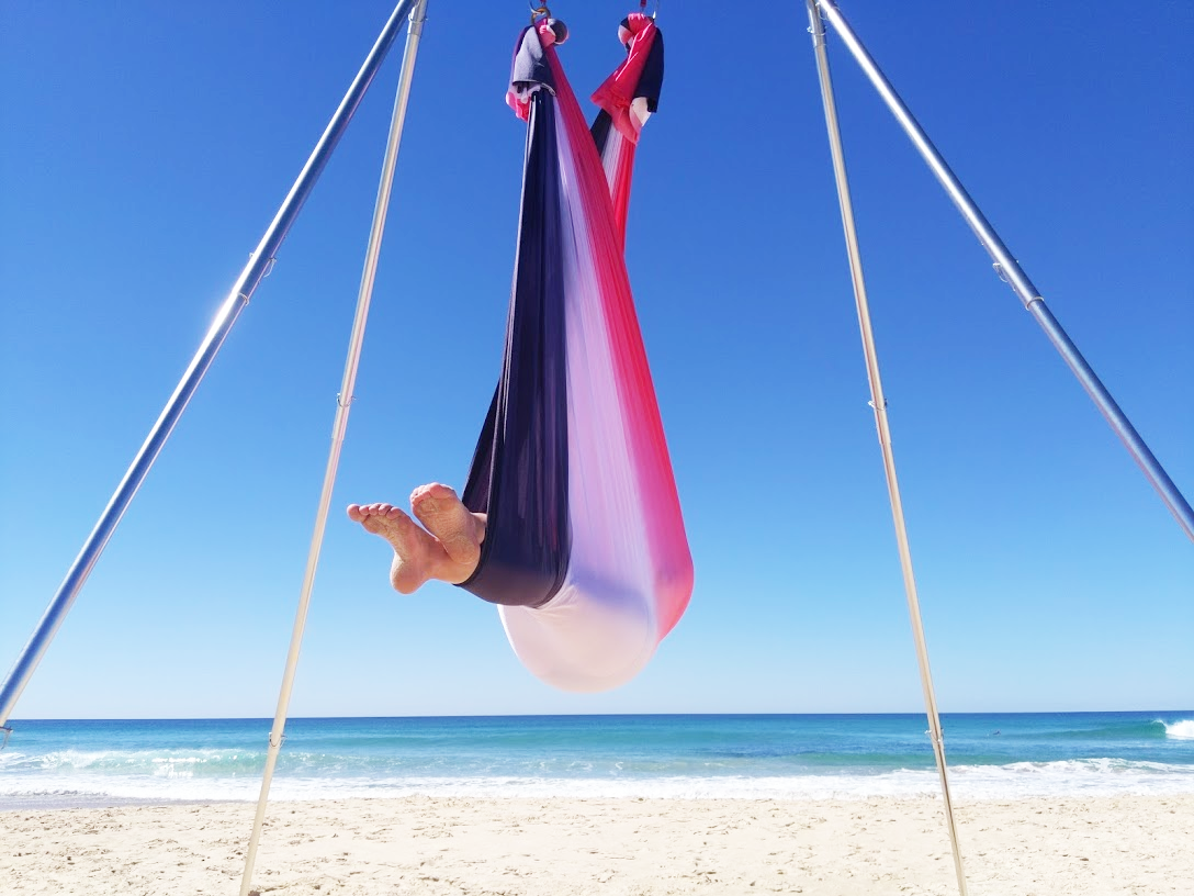 voodoo ombre AERIAL yoga hammock for sale
