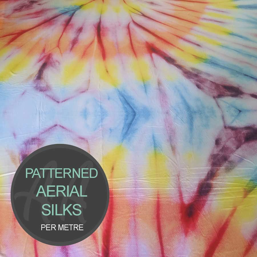Flower Child Tie Dye Aerial Silks For Sale