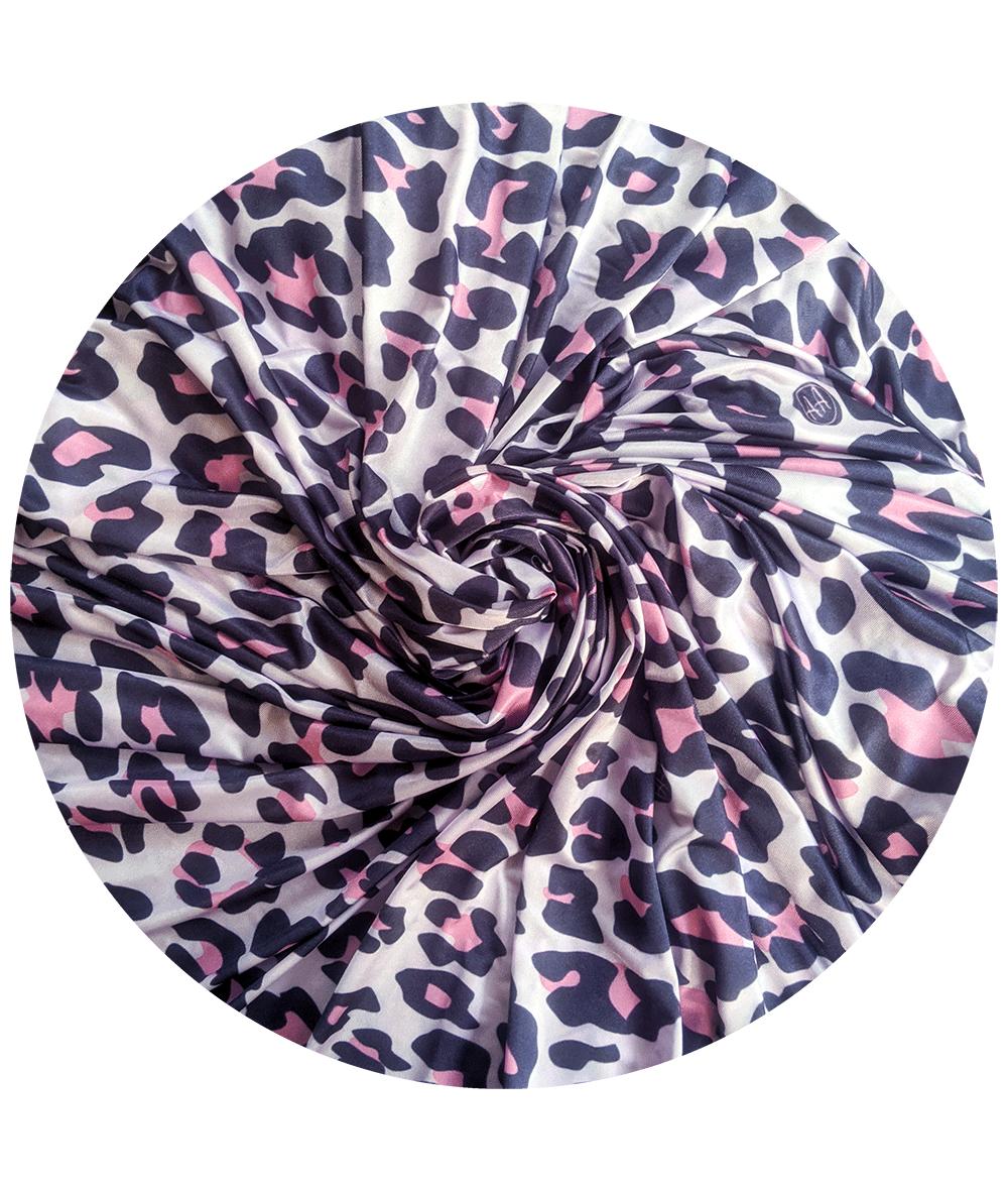 pink aerial yoga silks round