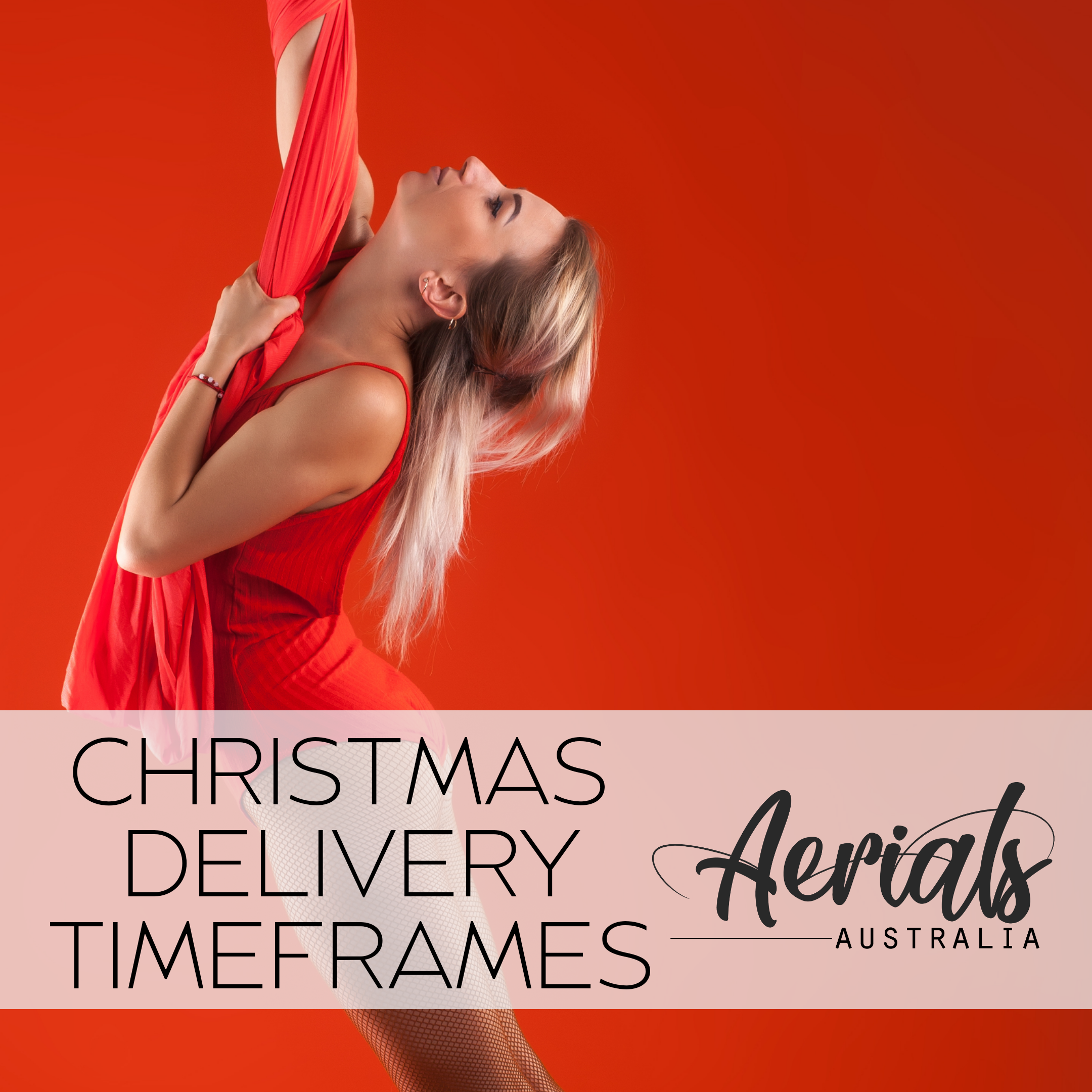 Aerials Australia Christmas Product Delivery Time