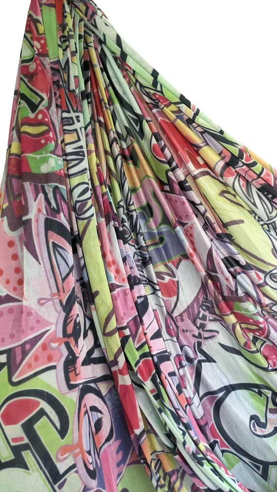 graffiti aerial silks FOR SALE AUSTRALIA