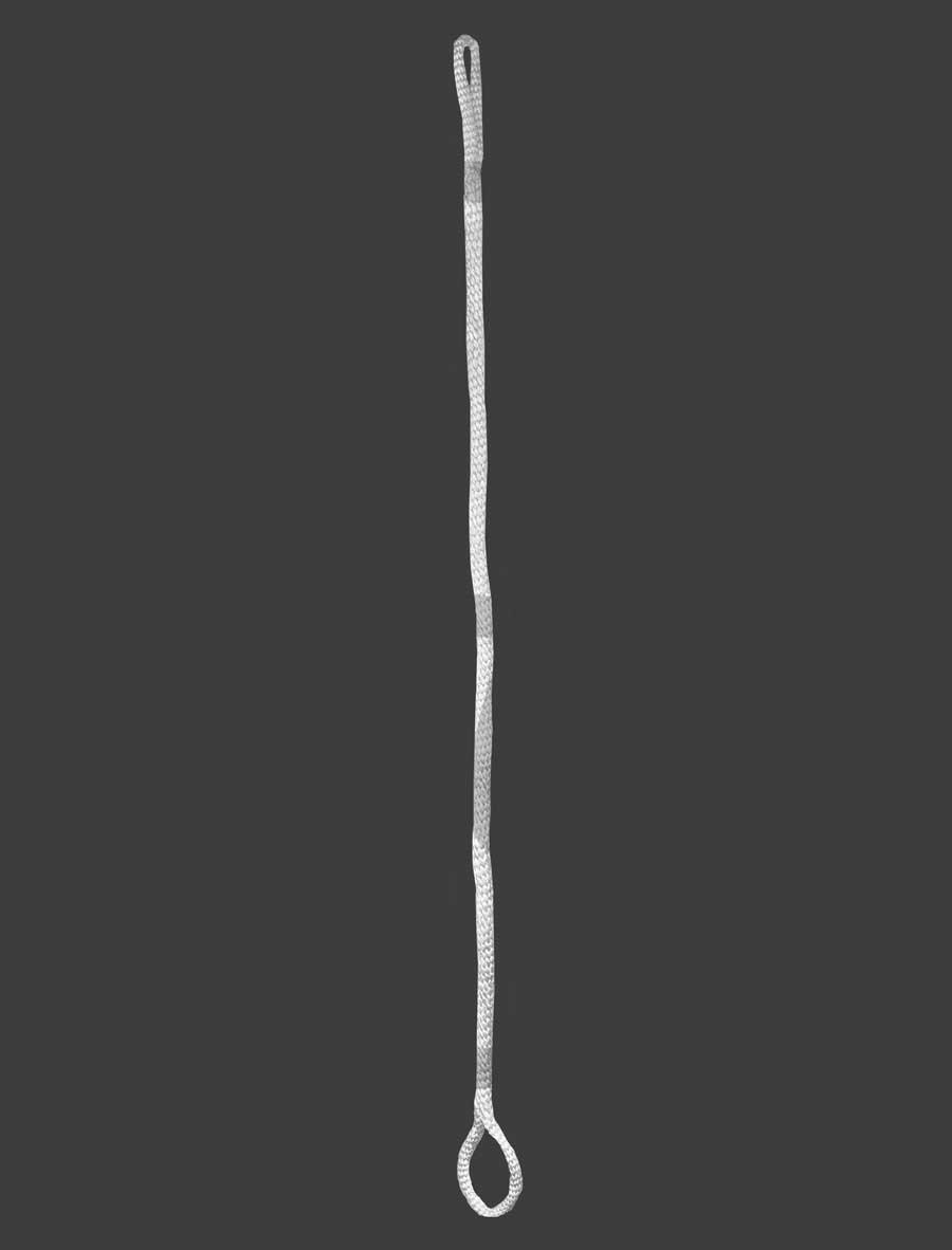 white aerial lyra hoop rope Aerials Australia