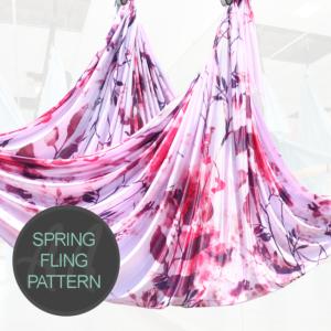 spring pattern aerial hammocks for sale